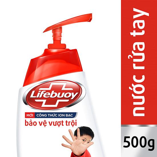 Nước rửa tay lifeboy 500 ml