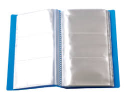 Sổ name card bìa nhựa A5 240 card
