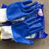 Găng tay len tráng nhựa xanh chống nhiệt